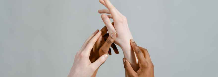 close up shot of hands