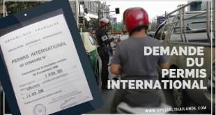 Demande du permis international