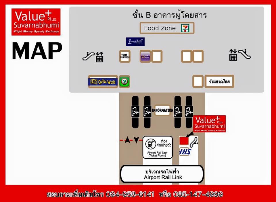 Dossier: Changer des euros en bahts / Ouvrir un compte bancaire