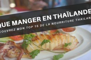 Nourriture Thaïlandaise