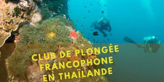 Centre de Plongée Francophone en Thaïlande. Où Plonger en Thaïlande ?
