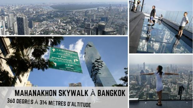 Mahanakhon Skywalk à Bangkok