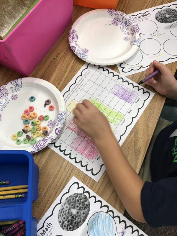 Back to School Math Assessment Using Fruit Loops