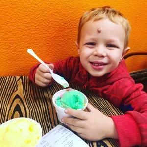 Ice Cream at Mango Crazy