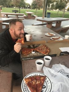 Pizza Guys, Family Fun, Special Treat Friday, pizza, pizza at the park, unplugged