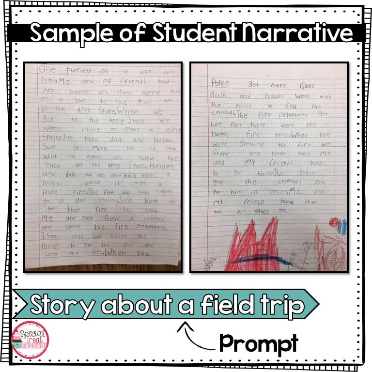 Narrative Writing Unit 1st Grade