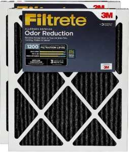 Filtrete Allergen Defense Odor Reduction AC Furnace Air Filter