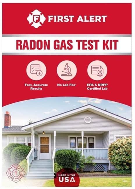 First Alert Home Radon Gas Detector