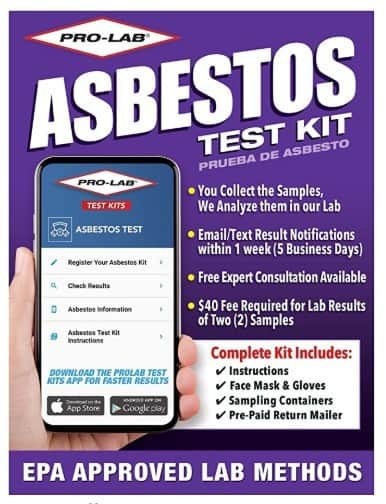 Pro-Lab Asbestos Detector Test Kit