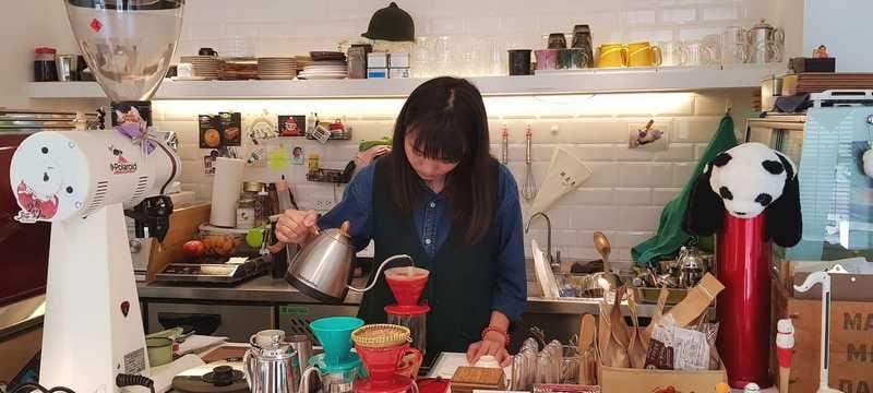 咖啡跟人一樣可以有各種樣貌|漸漸咖啡店|手沖咖啡