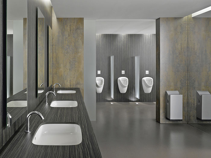 Commercial Bathroom Layout