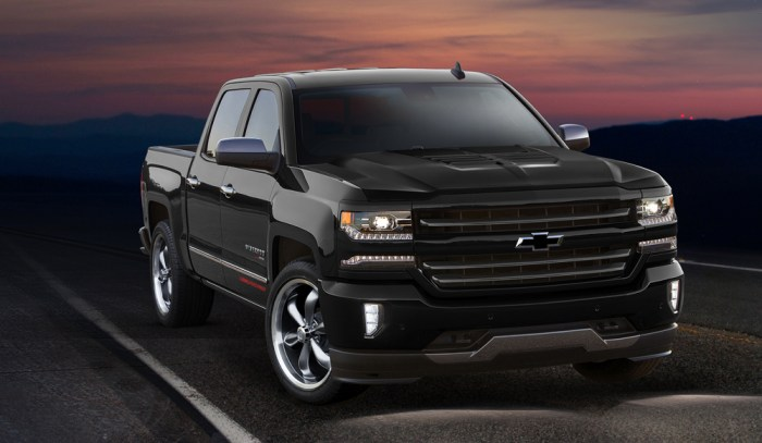2016 Silverado Sport Edition Supercharged