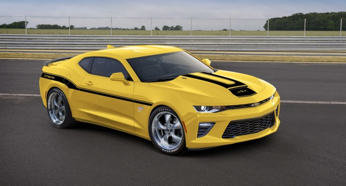 2016 Bright Yellow Yenko 427 Naturally Aspirated 700HP Camaro