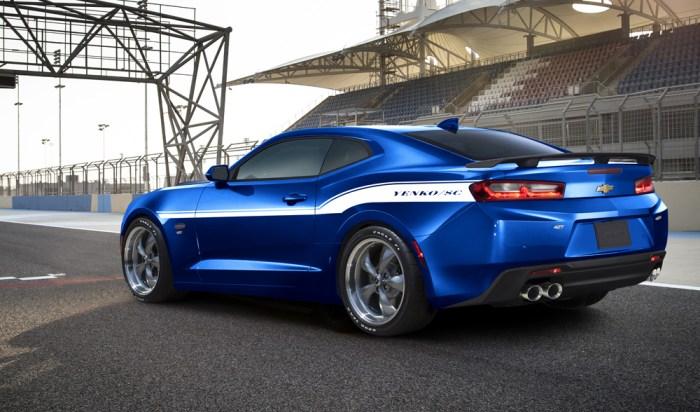 2016 Hyper Blue Yenko 427 Naturally Aspirated 700HP Camaro