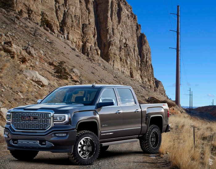 "2016-17 Sierra® Supercharged ZL® Off-Road 6"" Lifted or Leveled"