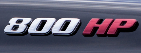 800HP Logo