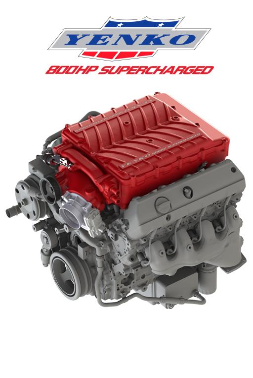 2017 Yenko/SC Corvette Supercharger
