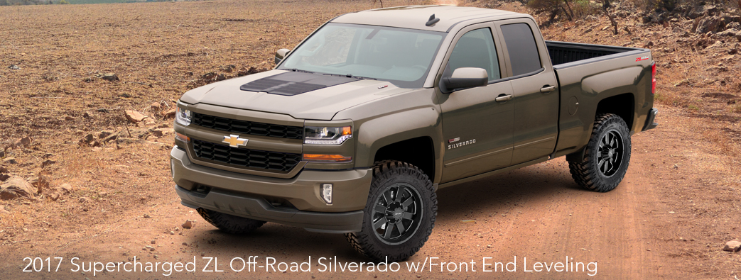 2017 Silverado ZL Off-Road Leveled