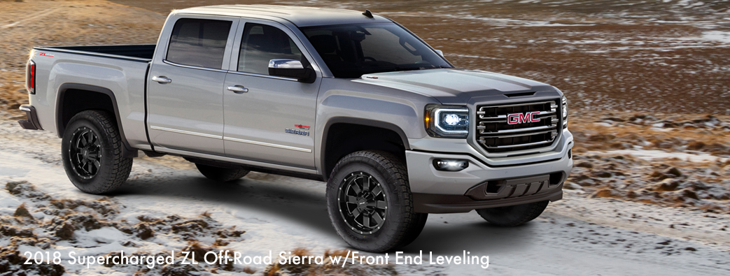 » 2018 Supercharged ZL Off-Road Sierra w/Front End Leveling