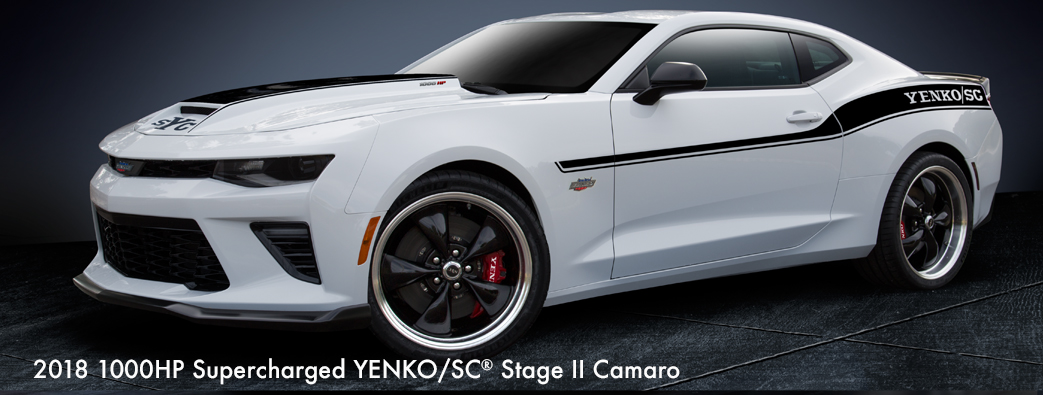 2018 Yenko/SC® Supercharged 1000HP Stage II Camaro