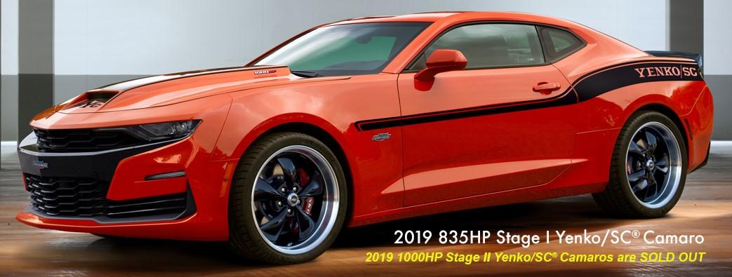 2019 835HP Stage I Yenko/SC Camaro