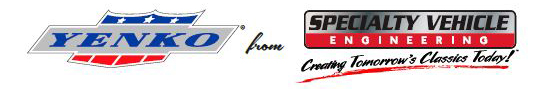 Yenko and Specialty Vehicle Engineering Logos