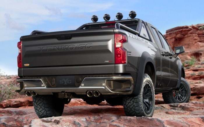 2021 710HP Yenko Supercharged Silverado Off-Road California Edition Large Pic 4