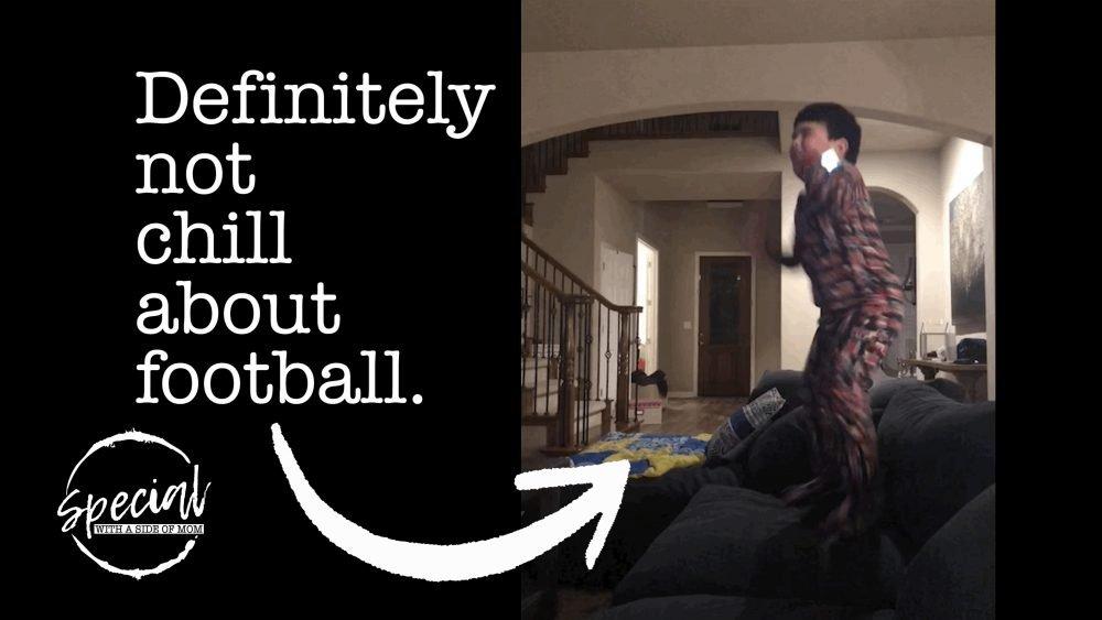 Damien Loves Football