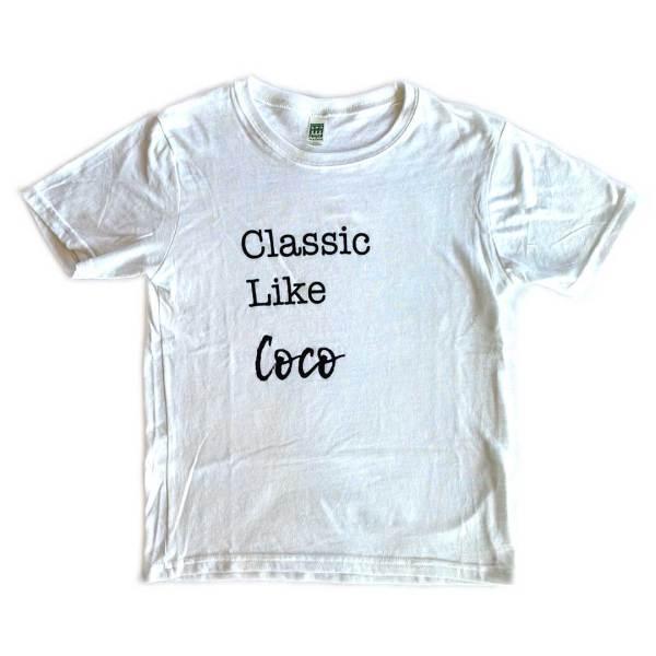 Classic Like Coco Kids Tshirt