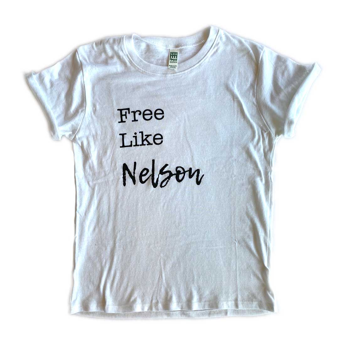 Free Like Nelson Tee – Toddler/Youth