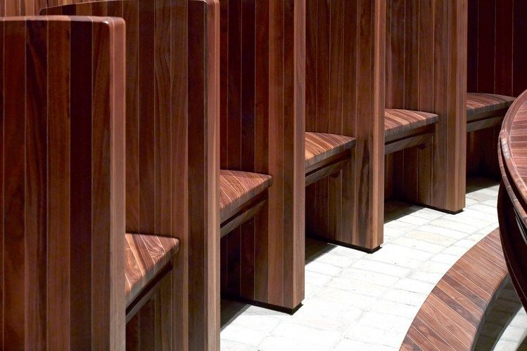 HEATHERWICK BRINGS NEW LIFE IN BLACK WALNUT TO WORTH ABBEY