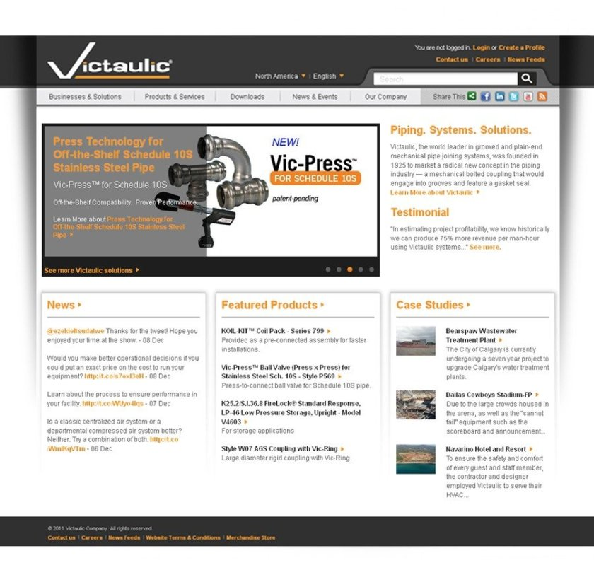 Victaulic_-_new_website_screenshot