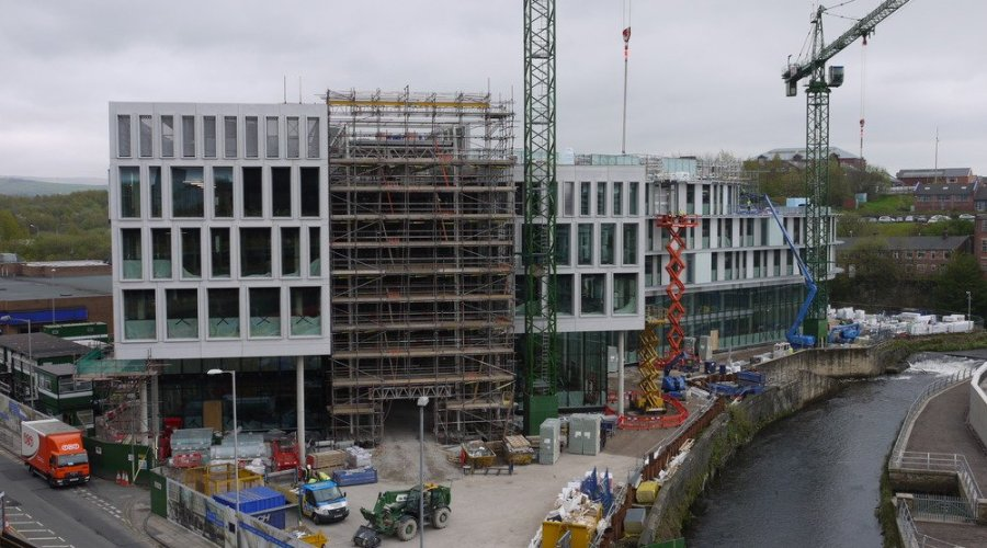 Kingspan Flooring For New Civic Offices In Rochdale