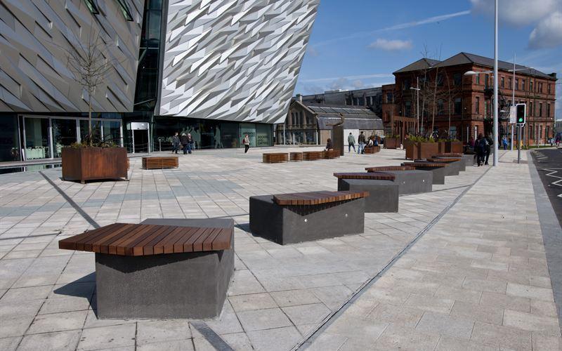 Townscape supplies anti-terrorist protection to Belfast