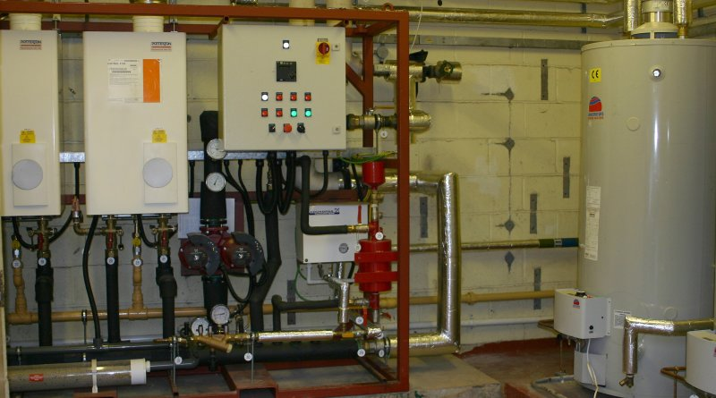 prefabricated heating system