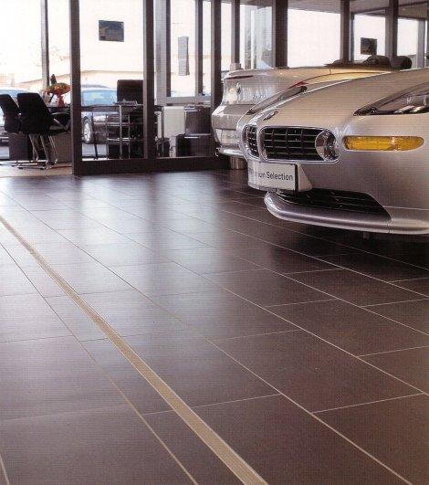 CMJ Movement Joint Car Showroom