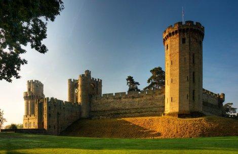 East Front Warwick Castle