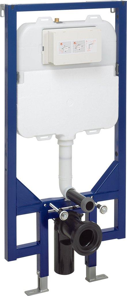 Space Saving WC Frame from bauhaus-bathrooms.co.uk