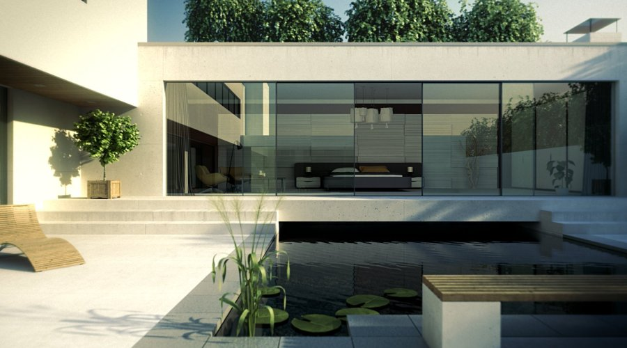 UK's slimmest sliding glass doors reflect trend for grand designs