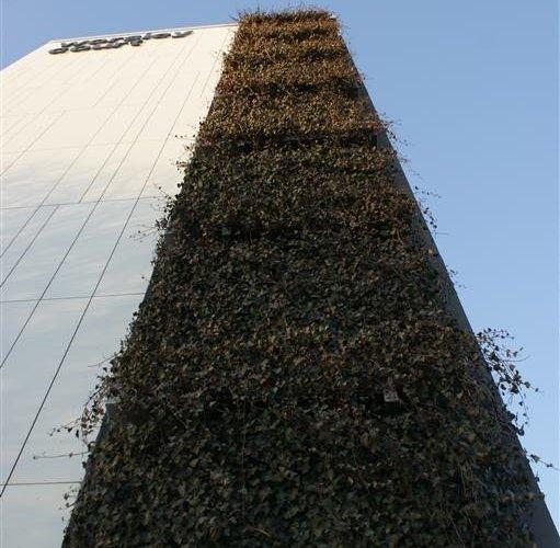 Manchester apartment block gets green facelift