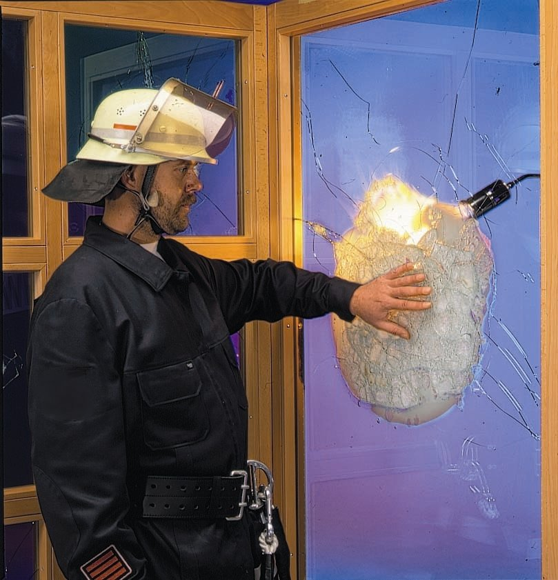 Assessing Glass in Fire