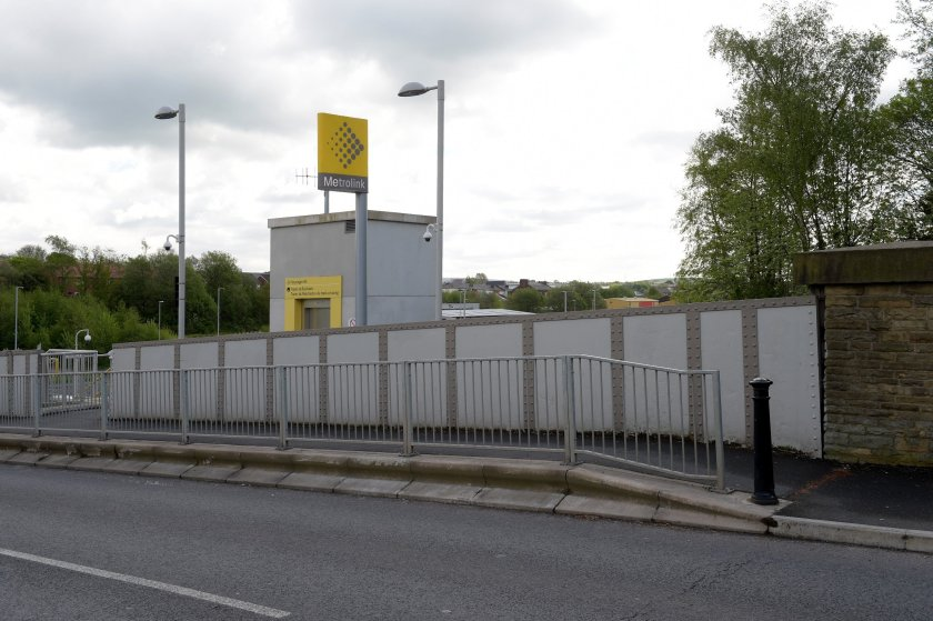 Trief vehicle containment kerbs from Brett Landscaping have been specified to provide protection on bridges as part of Manchester's major Metrolink project.
