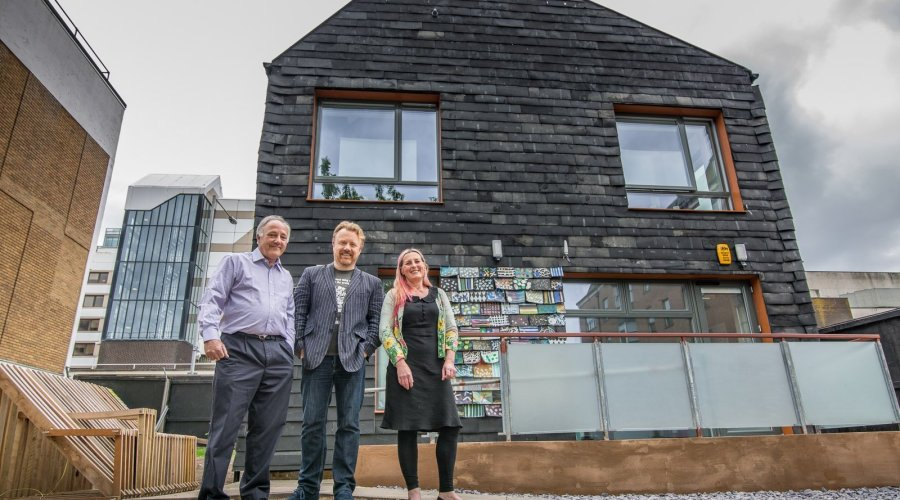 Vent-Axia Donates Ventilation for Waste House