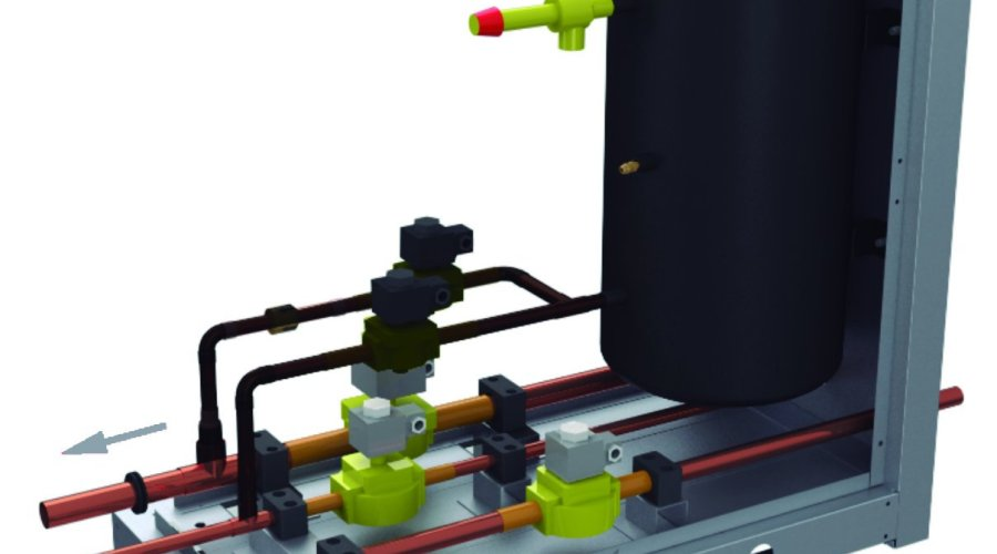 Panasonic's new pump down system detects refrigerant leaks early