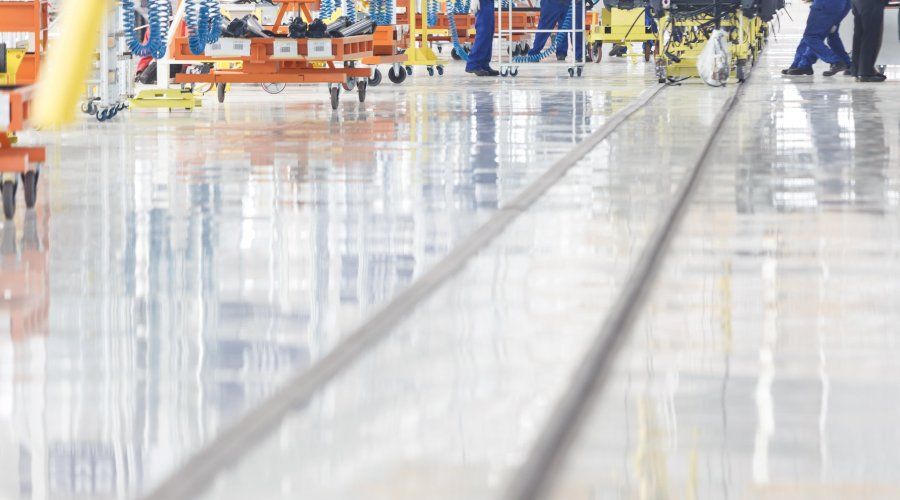 Flowcoat Chosen for South Africa's Largest Flooring Project at Iveco