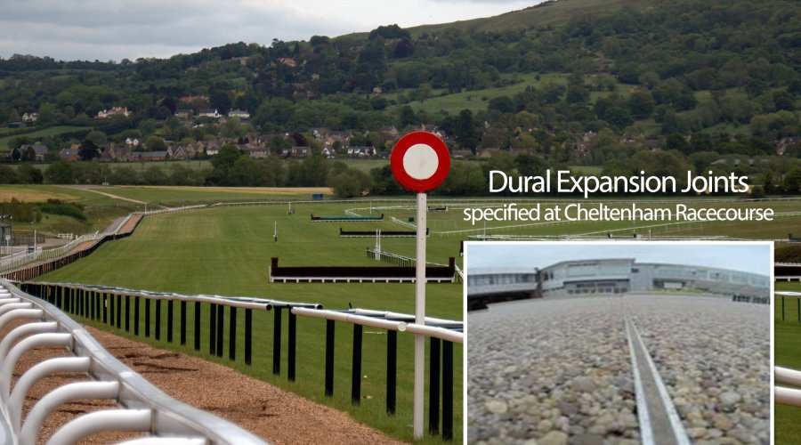 Dural Expansion Joints specified at Cheltenham Racecourse