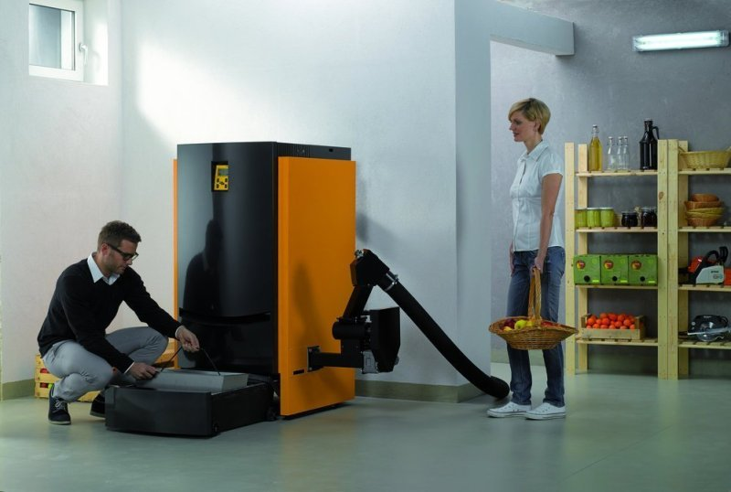 Clever biomass for the home!