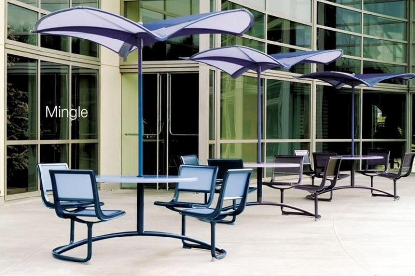 The 35 Collection from Landscape Forms grows with a new generation of high performance products.