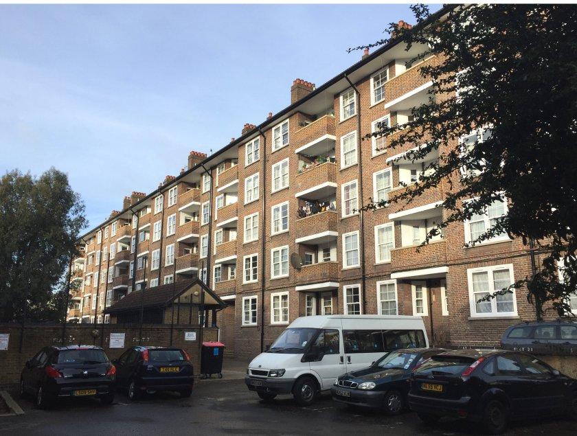 Sovereign supplies 369 VEKA Vertical Sliders for Notting Hill social housing renovation