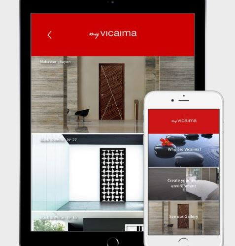 Vicaima make it snappy with new doors app